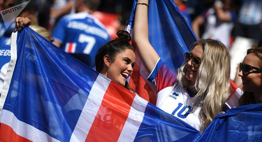 Iceland's fans