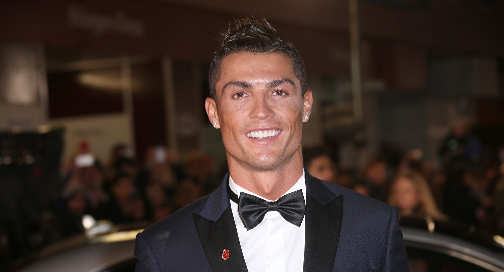 Cristiano Ronaldo poses for photographers upon arrival at the world premiere of the film 'Ronaldo, in London, Monday, Nov. 9, 2015