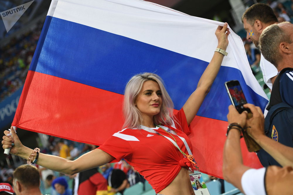 Football Beauties From Across the Globe Enjoying World Cup Matches