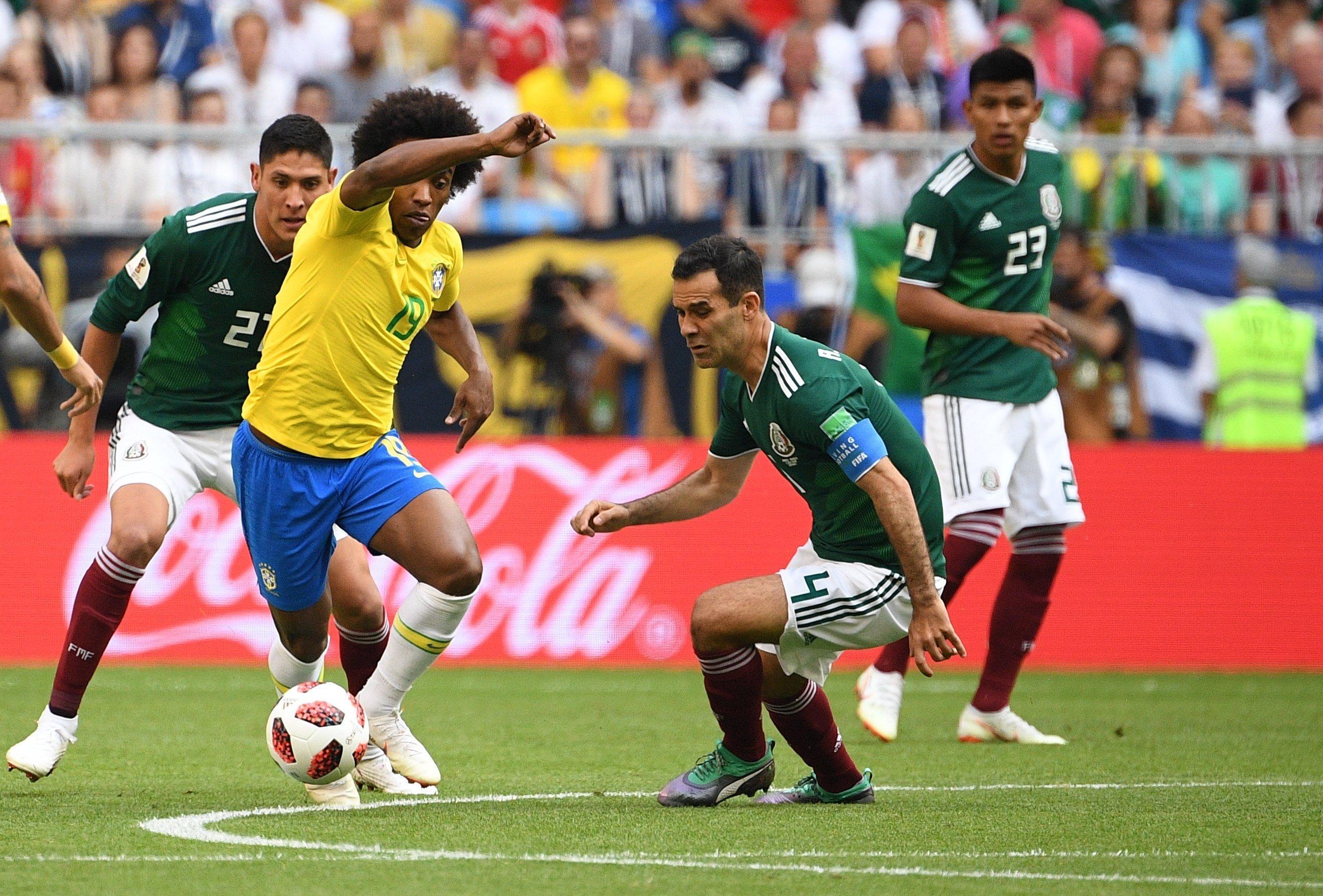 Russia World Cup Brazil - Mexico