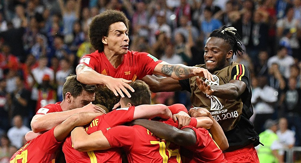 FIFA World Cup Round of 16 match between Belgium and Japan at the Rostov Arena, in Rostov-on-Don, Russia, July 2, 2018.