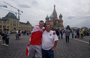 Paul Dubberley in the Red Square