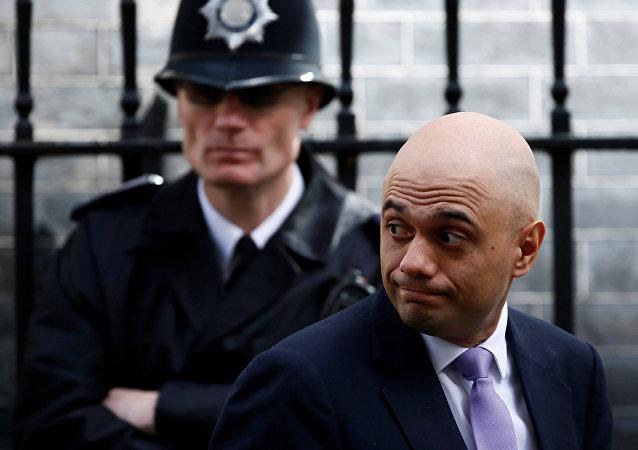 Der britische Innenminister Sajid Javid (Archivbild)