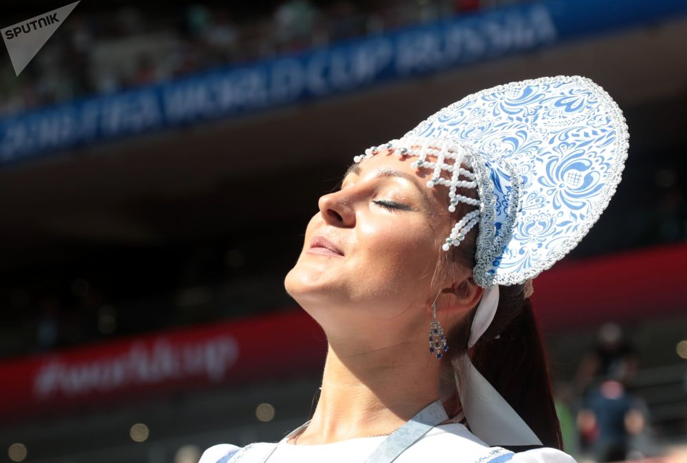Russian Kokoshnik: FIFA Football Fans Love Wearing Traditional Headdress