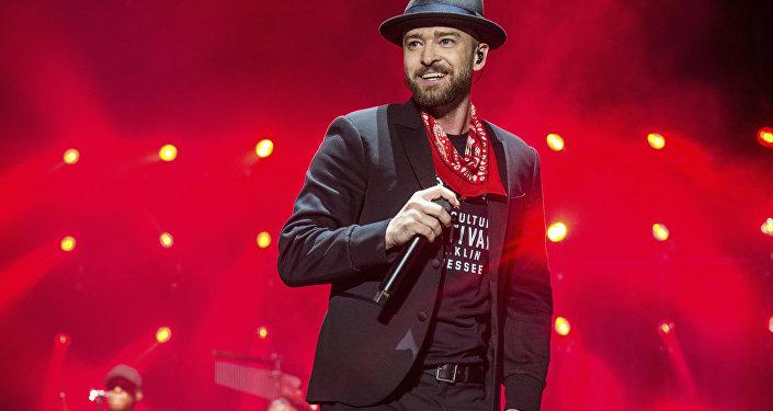 US singer Justin Timberlake