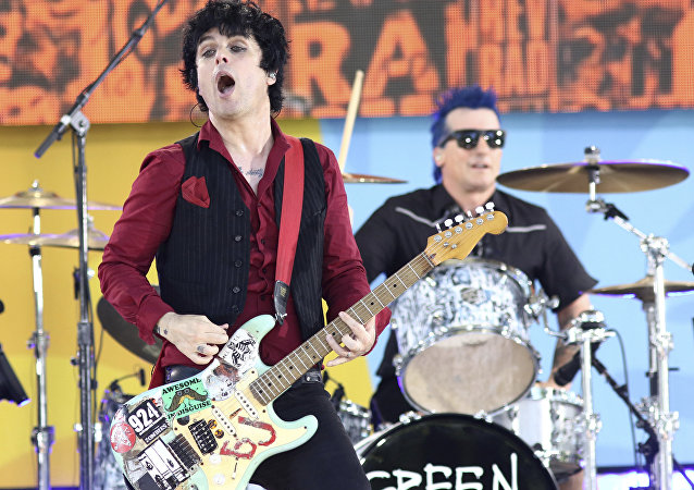 Billie Joe Armstrong of the band Green Day performs on ABC's Good Morning America 2017 Summer Concert Series at Rumsey Playfield/SummerStage in Central Park on Friday, May 19, 2017, in New York.