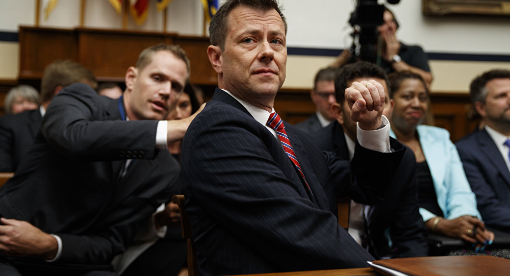 FBI Deputy Assistant Director Peter Strzok testifies before the the House Committees on the Judiciary and Oversight and Government Reform during a hearing on Oversight of FBI and DOJ Actions Surrounding the 2016 Election, on Capitol Hill, Thursday, July 12, 2018, in Washington.