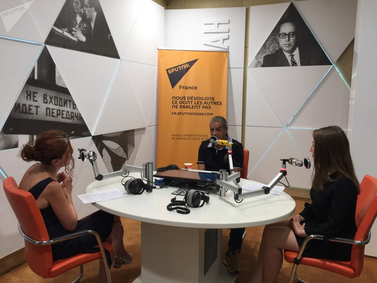Samy Naceri speaks with Sputnik