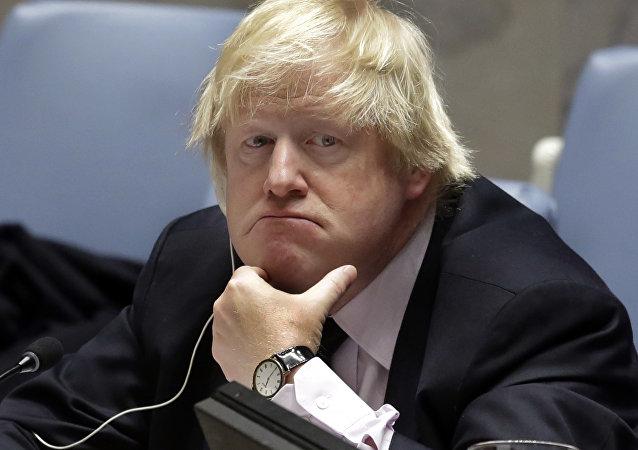 Britain's former Foreign Minister Boris Johnson