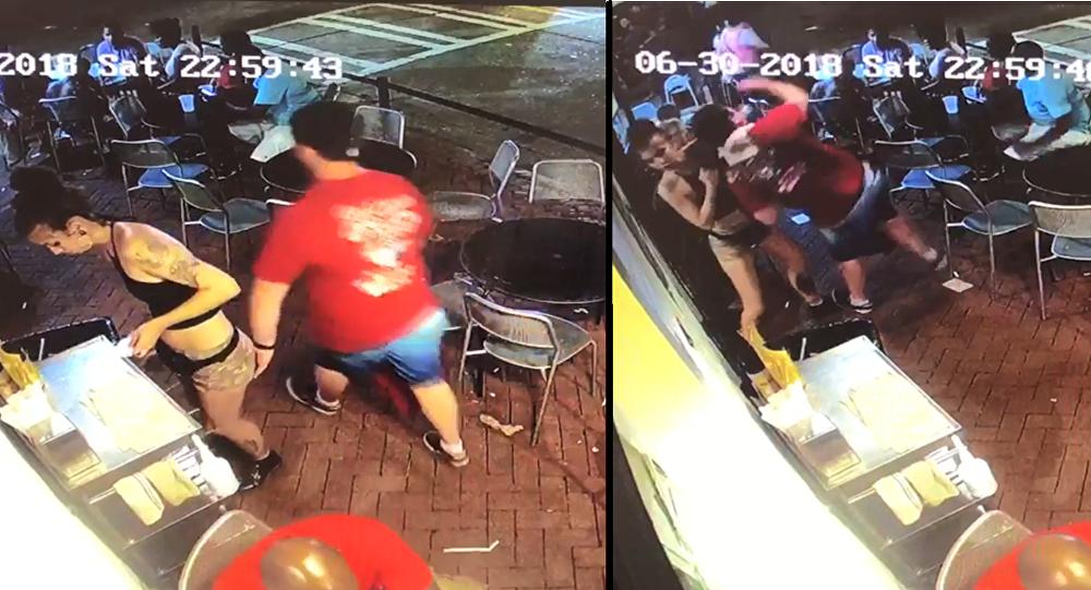 Georgia Waitress Slams Man Who Groped Her