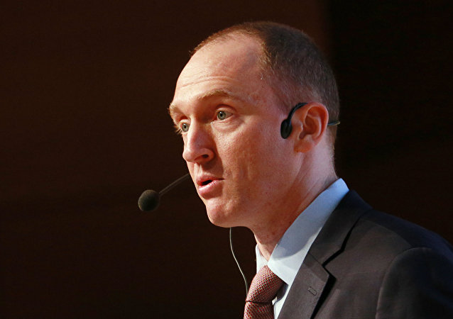 Former Trump campaign adviser Carter Page