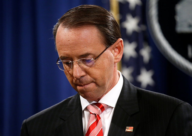 Deputy U.S. Attorney General Rosenstein