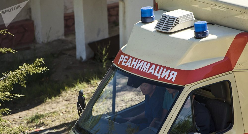 Ambulance in Kyrgyzstan. File photo