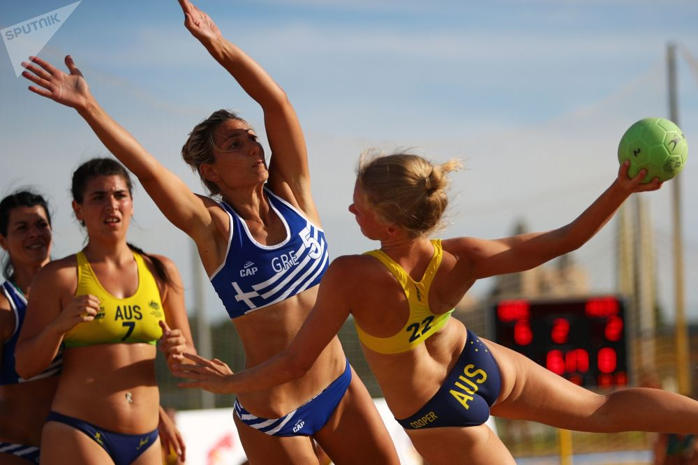 Queens of the Sand on Display at Beach Handball World Championships