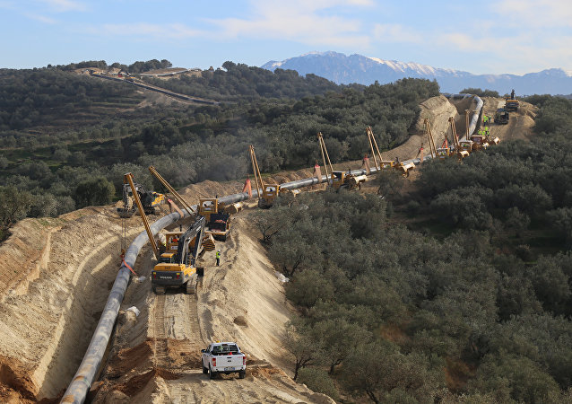 Construction of the Trans-Adriatic Pipeline
