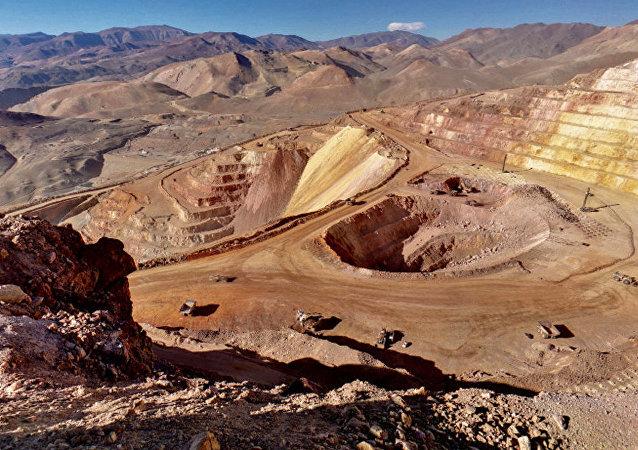 Una mina de Barrick Gold en Argentina