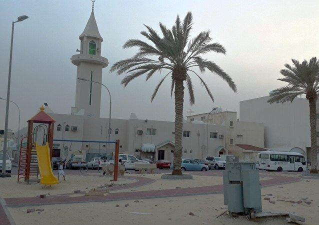 Sand and Wind in Saudi Arabia