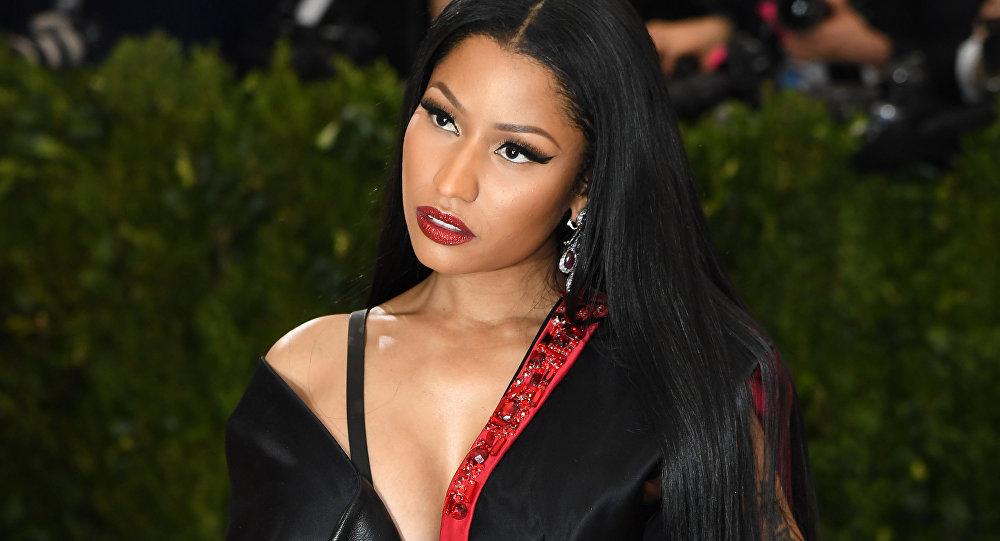 Nicki Minaj attends the Costume Institute Benefit May 1, 2017 at the Metropolitan Museum of Art in New York