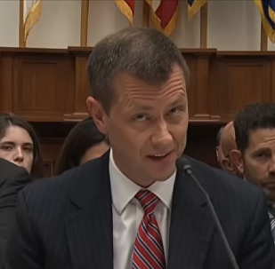 Recently fired FBI agent Peter Strzok testifies before congress prior to his sacking.