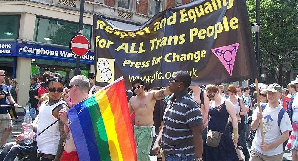 Respect and Equality for All Trans People  Pride London, 3 July 2010.