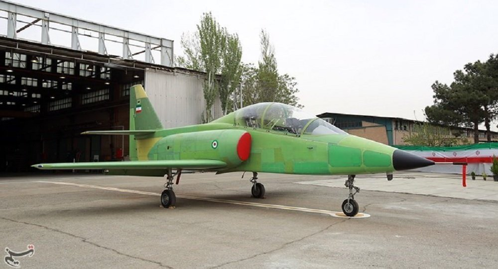 Iran inaugurates production line of indigenous fighter jet