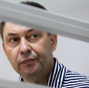 RIA Novosti Ukraine head Kirill Vyshinsky detained in Ukraine