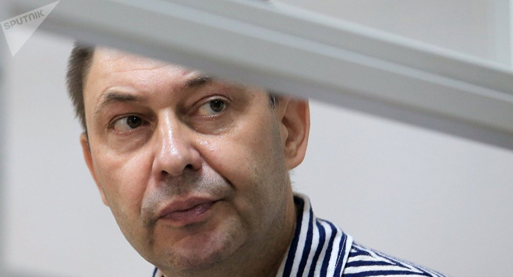 RIA Novosti Ukraine head Kirill Vyshinsky detained in Ukraine