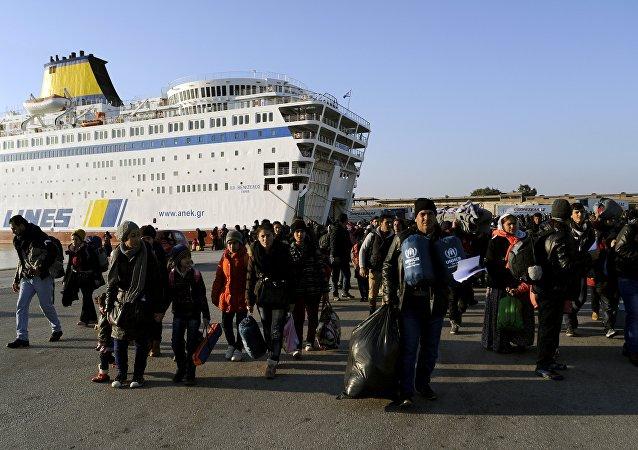 Passenger ferry Eleftherios Venizelos