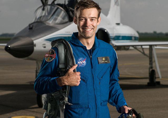 NASA astronaut trainee Robb Kulin