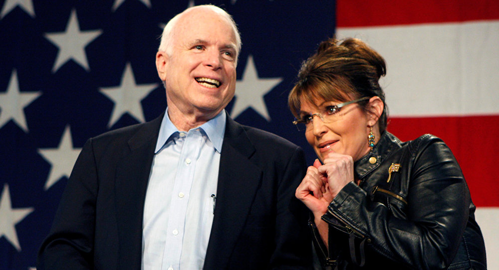 Image result for mccain palin