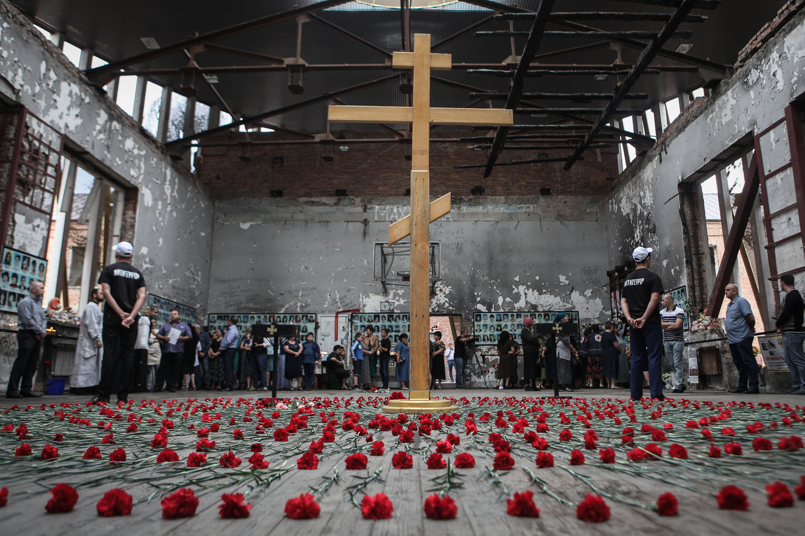 Events dedicated to 14th anniversary of Beslan tragedy.