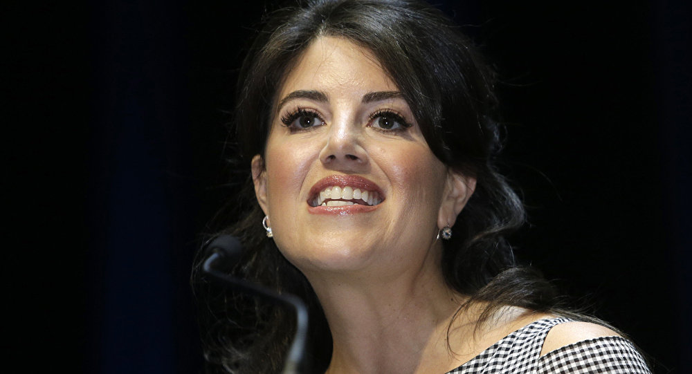 Monica Lewinsky at the Cannes Lions 2015, International Advertising Festival in Cannes, southern France