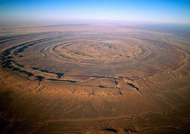 The Eye of Sahara