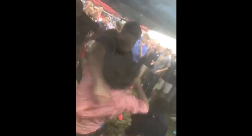 Ole Miss students filmed fighting at tailgating event