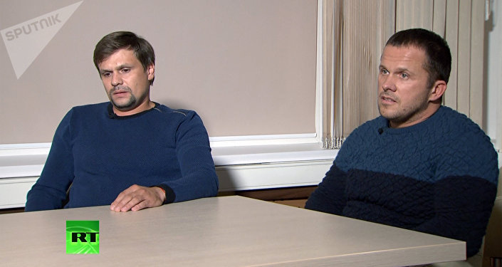 Interview with Petrov and Boshirov