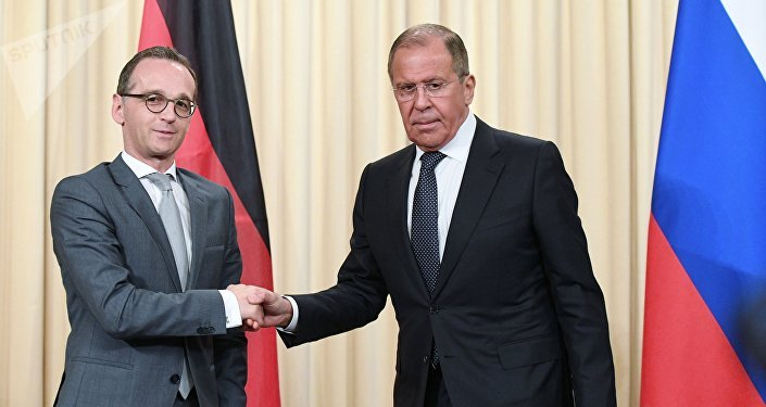 Russian FM Lavrov and His German Counterpart Maas Hold Press Conference in Moscow – Video