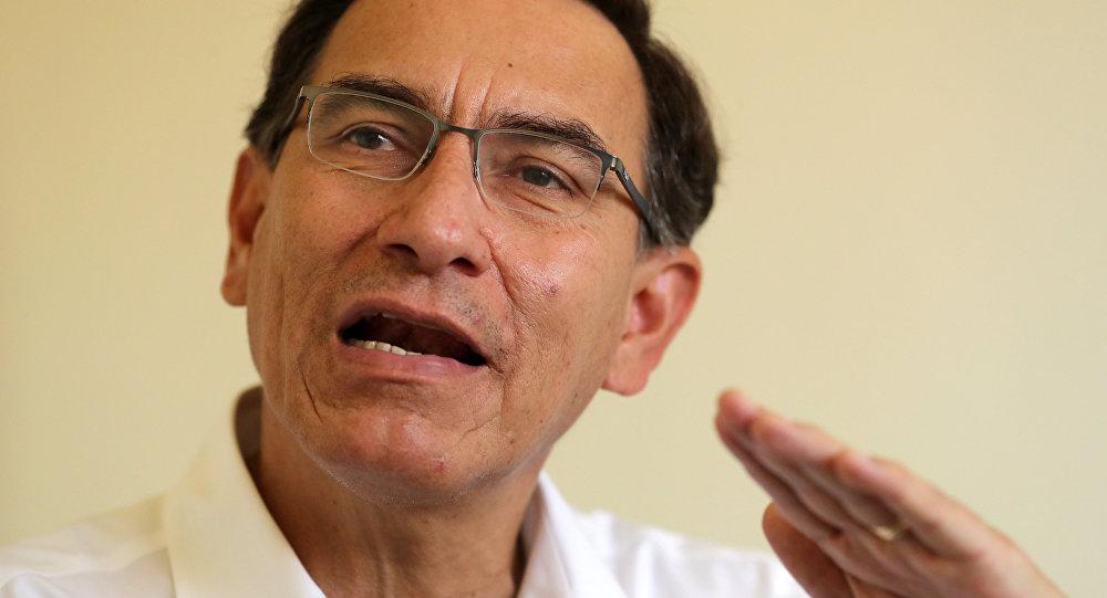 Peru's President Martin Vizcarra