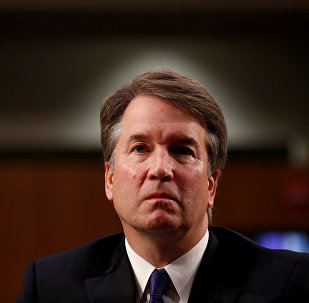 U.S. Supreme Court nominee Judge Brett Kavanaugh listens during his U.S. Senate Judiciary Committee confirmation hearing on Capitol Hill in Washington, U.S., September 4, 2018.
