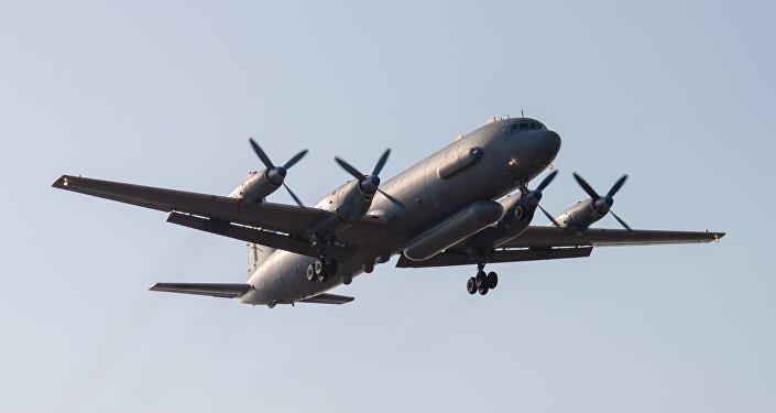 A Russian Il-20 reconnaissance aircraft (File)