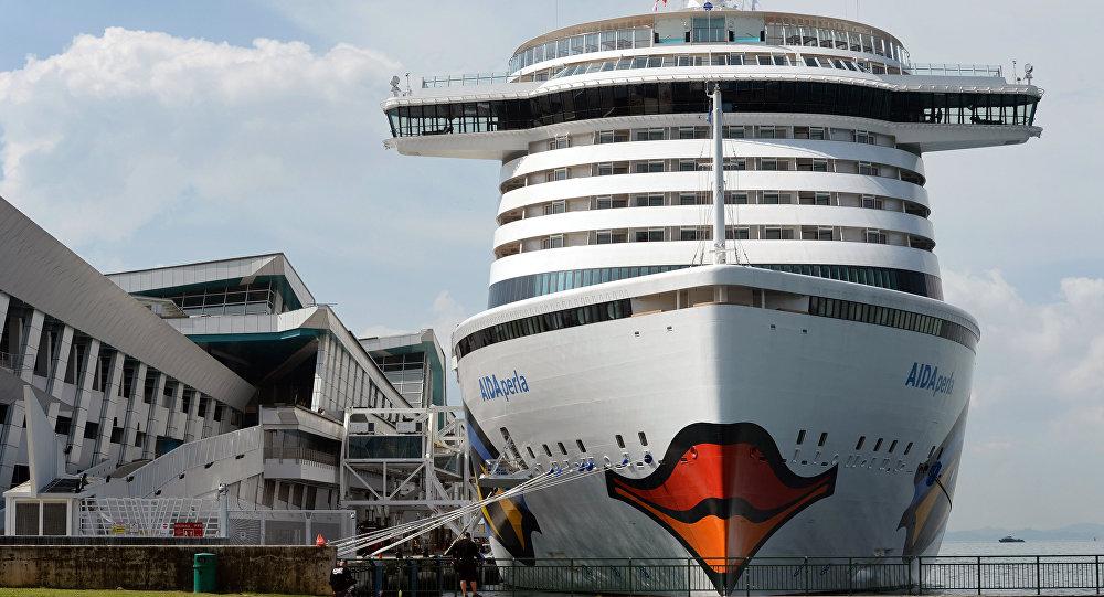 The cruise liner AIDAperla (File)