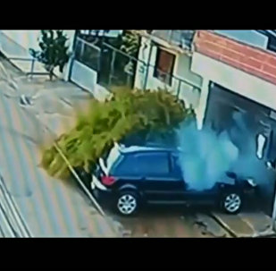 A car accident in Brazil