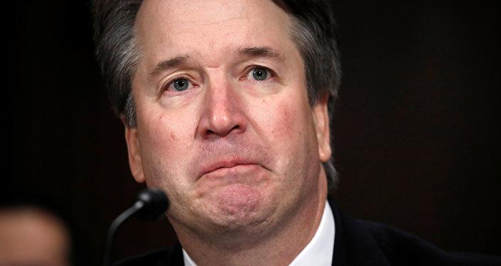 U.S. Supreme Court nominee Brett Kavanaugh testifies before a Senate Judiciary Committee confirmation hearing for Kavanaugh on Capitol Hill in Washington, U.S., September 27, 2018