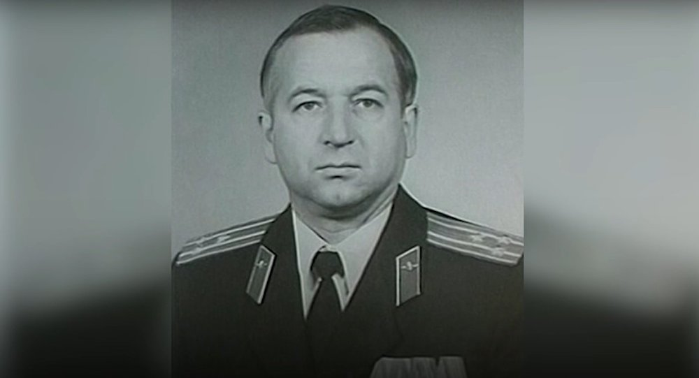 Sergei Skripal during his military service days.