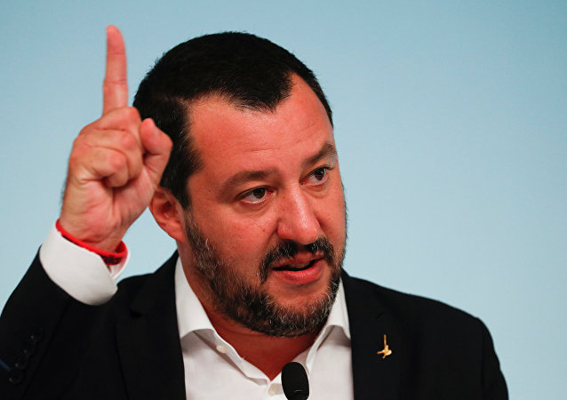 Italy's Deputy Prime Minister Matteo Salvini. File photo