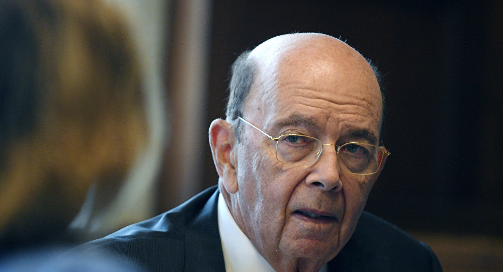 U.S. Secretary of Commerce Wilbur Ross answers questions during an interview with Reuters in his office at the U.S. Department of Commerce building in Washington, U.S., October 5, 2018