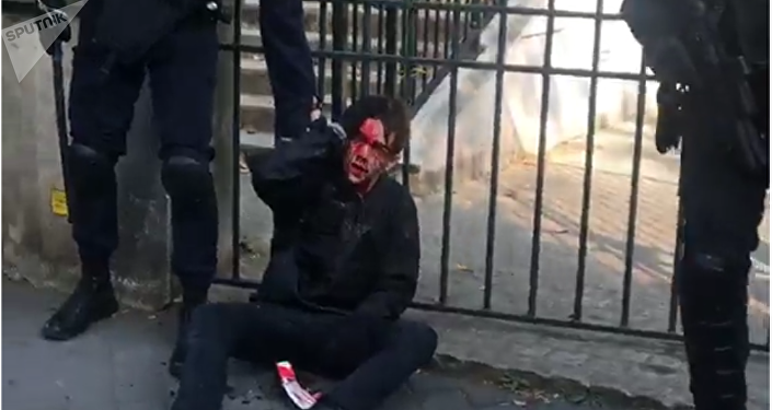 Protests in France turn violent