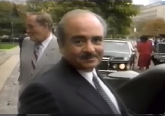 Arms dealer Adnan Khashoggi, uncle of journalist Jamal Khashoggi, in a February, 23, 1985 episode of Lifestyles of the Rich and Famous