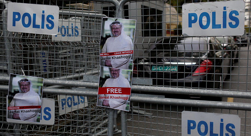 Pictures of Saudi Journalist Khashoggi