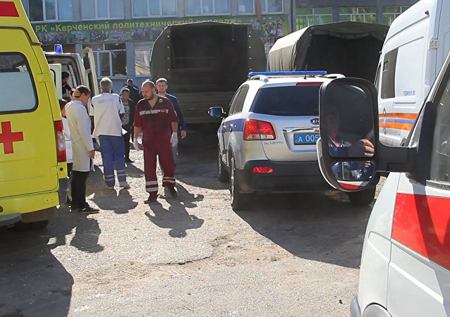 Blast in College in Kerch