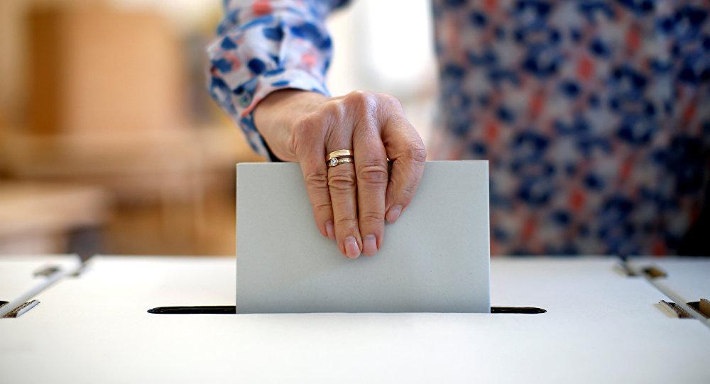 Wahllokale in Nürnberg, Bayern